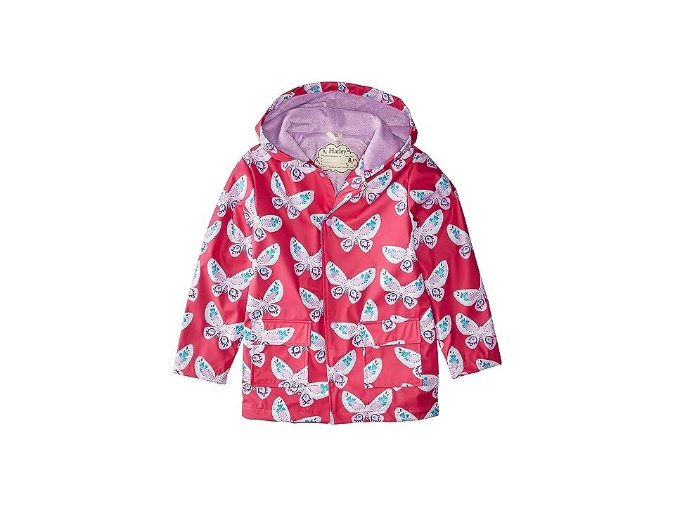 Hatley Kids - Hatley Kids Decorative Butterflies Raincoat