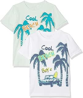 Loveble Baby M/ädchen T-Shirt Langarm Multicolor-Streifen Cartoon gedruckt Tops