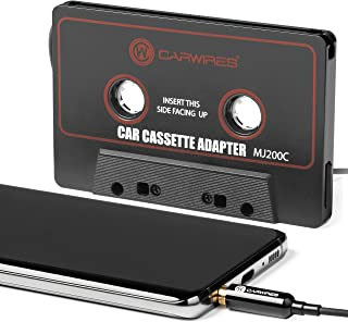 Carwires MJ200C – Premium Car Audio Cassette Adapter
