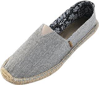 Alexis Leroy Flat Espadrilles for Men Canvas Shoes