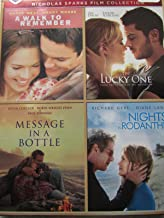 Best of Warner Bros 4 Film Favorites Nicholas Sparks Film Collection 4 DVD: A Walk to Remember; The Lucky One; Message in a Bottle; Nights in Rodanthe
