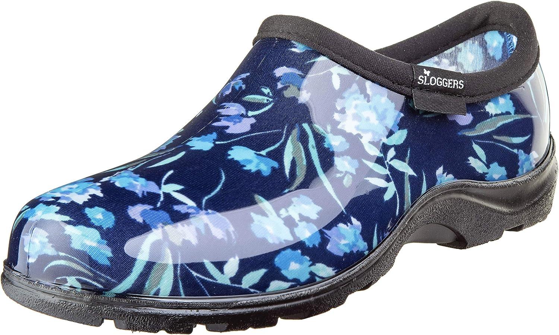 SLOGGERS 5119FCBL09 Wo's, Fresh Cut bluee sz 9 Waterproof Comfort shoes
