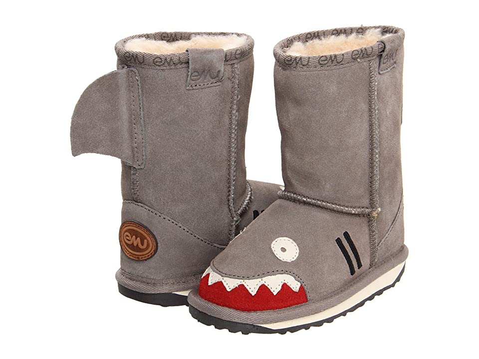 EMU Australia Kids Little Creatures Shark (Toddler/Little Kid/Big Kid) (Putty) Boys Shoes