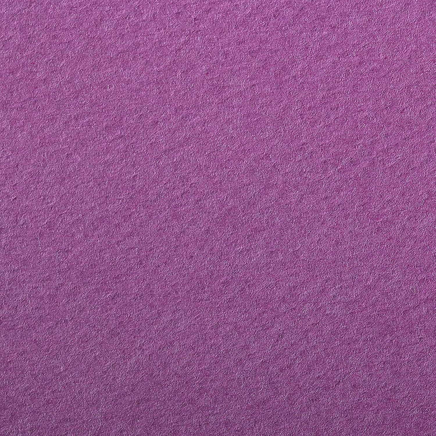 Clairefontaine Etival Coloured Grained Drawing Paper, 160 g, 50 x 65 cm  purple, Pack of 24 Sheets