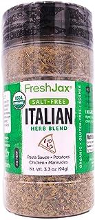 FreshJax Premium Gourmet Spices and Seasonings (Organic Italian Seasoning Blend)