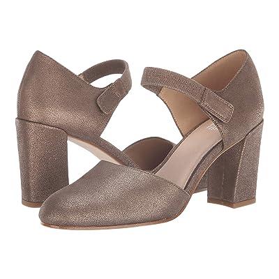 Eileen Fisher Malta (Bronze Metallic Suede) High Heels