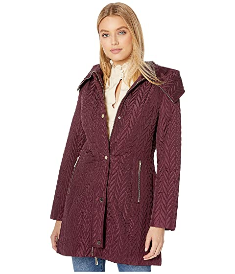 Kate Spade New York Quilted Long Line Jacket