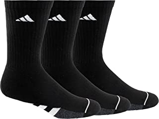adidas mens Cushioned Crew Socks (3-Pair)