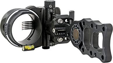 Axcel 5 Pin .019 Fiber Armortech HD Hunting Sight (Black)