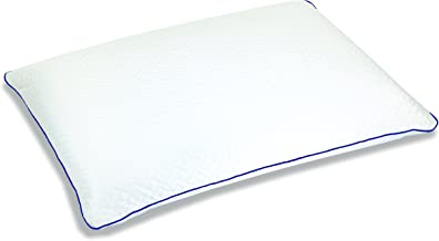 Sleep Innovations Forever Cool Gel Memory Foam Pillow with Cooling Cover, Made in The USA with a 5-Year Warranty, Standard Pillow