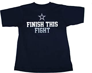 finish the fight cowboys shirt