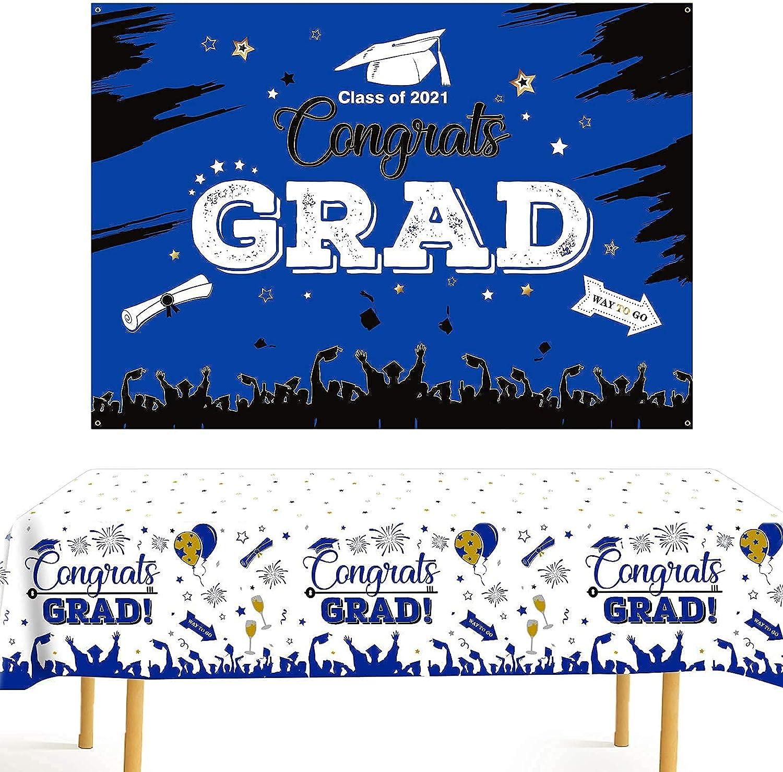 Graduation Decorations 2021 3 Pack Size 54
