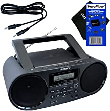 Sony Bluetooth & NFC (Near Field Communications) MP3 CD/CD-R/RW Portable MEGA BASS..