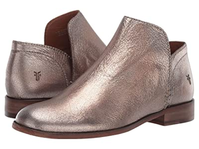Frye Elyssa Shootie (Golden Silver Vintage Metallic) Women