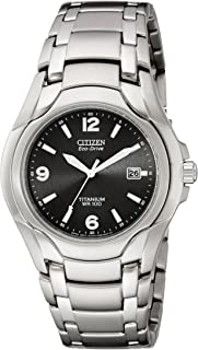 Citizen Mens Eco-Drive Titanium WR100 Watch