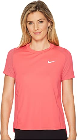 Nike Dry Miler Short-Sleeve Running Top