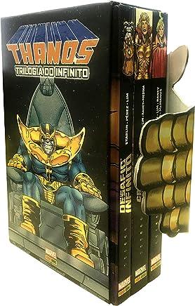 Box Thanos: Trilogia Do Infinito