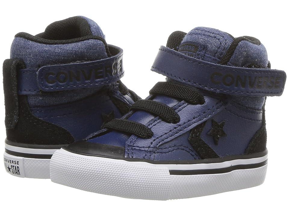 Converse Kids Pro Blaze Strap Hi (Infant/Toddler) (Navy/Black/White) Boy