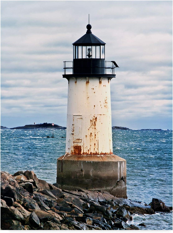 Trademark Fine Art Lighthouse Views Ii by Rachel Perry, 14x19Inch