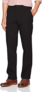 Men's Straight Fit Workday Khaki Pants with Smart 360...