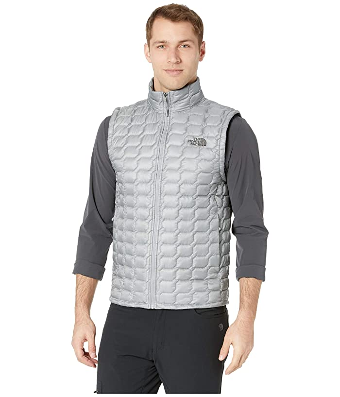 The North Face Thermoball Vest (Mid Grey/High-Rise Grey Campfire Print) Men