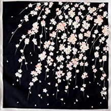 FUROSHIKI JAPANESE Traditional Wrapping Cloth Cotton 50cm Carp Waterfall Climb
