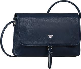 TOM TAILOR bags LUNA Damen Umhängetasche S, dark blue, 20x2x12,5