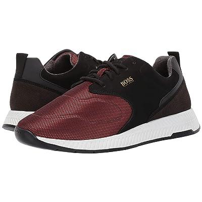 BOSS Hugo Boss Titanium Run Sneaker By BOSS (Dark Red) Men