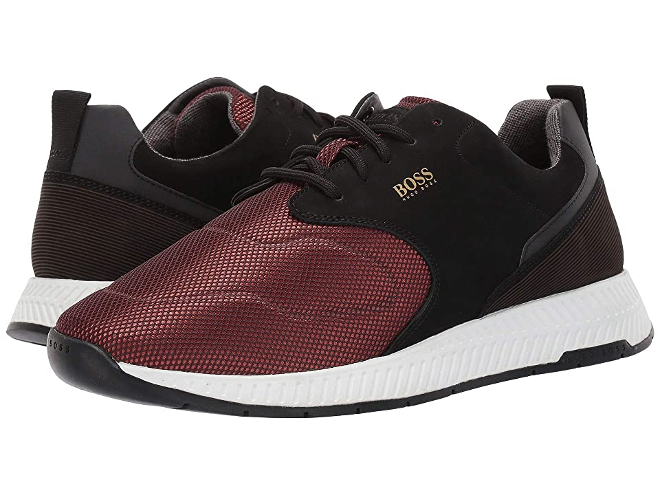 BOSS Hugo Boss Titanium Run Sneaker By BOSS (Dark Red) Men