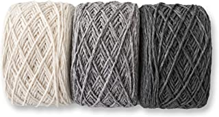 Slow Moments Pisa Yarn – All Season Cotton Blend Yarn for Knitting and Crochet – 70g Each – Multi Color Pack – Set of 3 (M...