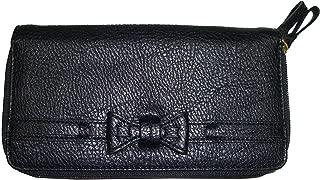 Women's Double Zip Around Wallet, Size 8