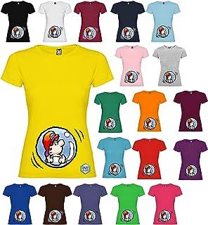 Maglietta personalizzata donna premaman Mario T-shirt vari colori