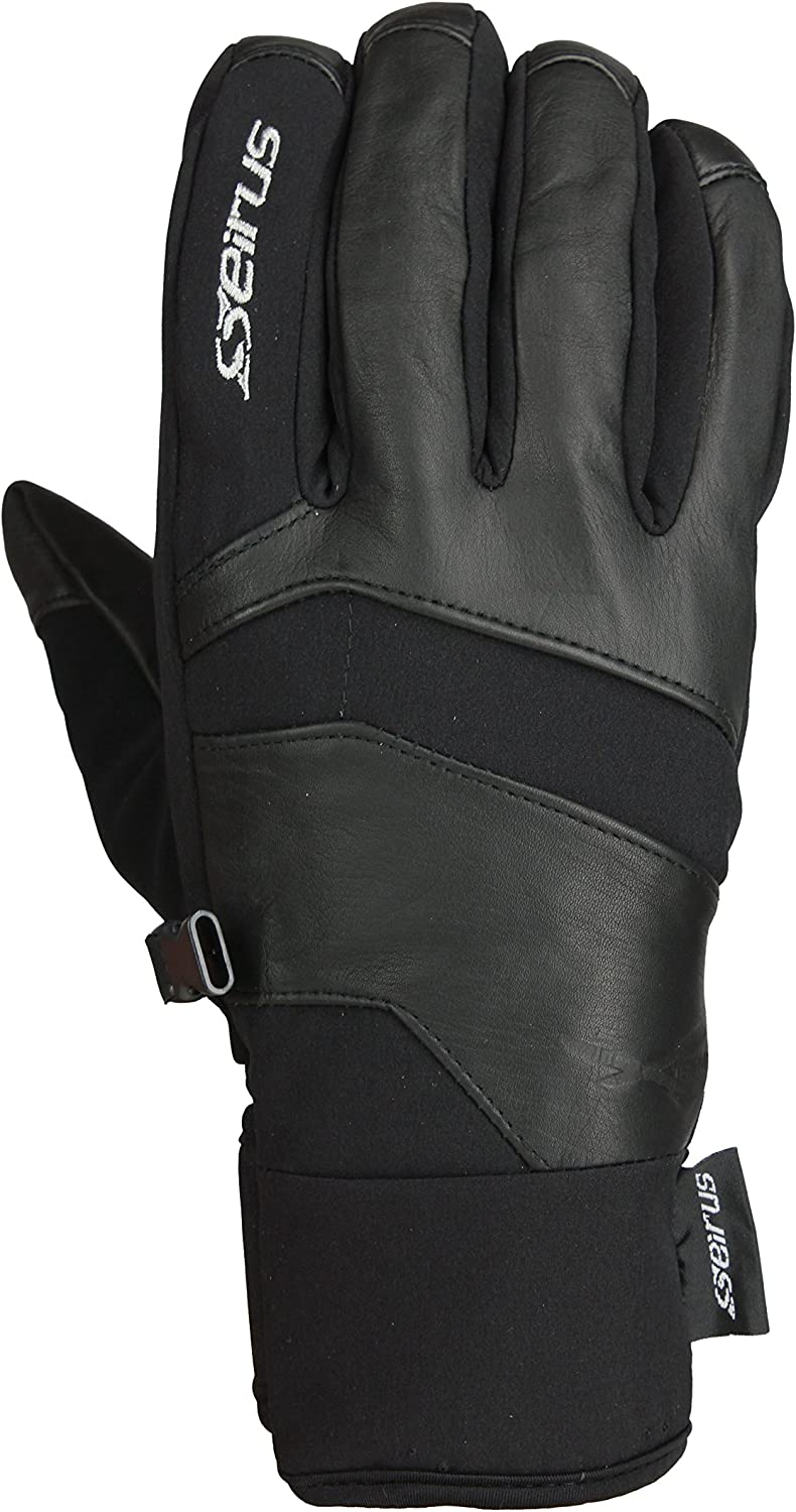 Seirus Innovation 1429 Womens Ladies Xtreme All Weather Edge Form Fit Waterproof Leather Gloves