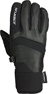Seirus Innovation 1429 Mens Xtreme All Weather Edge Form Fit Waterproof Leather Glove