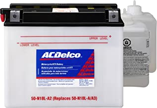 ACDelco A50N18LA2 Specialty Conventional Powersports JIS 50N-18L-A3 Battery