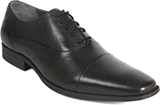 VITO ROSSI MEN'S BLACK SHOES - 12 UK