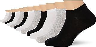 FM London 12-Pack Unisex Trainer Socks | Breathable, Comfortable, Ergonomic