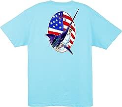 Guy Harvey Merican Short Sleeve T-Shirt