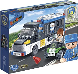Banbao Police Series Toys 325 Pcs, For 5 Years & Above