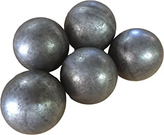 """Hollow 3"""" steel ball weldable DIY project component (5-pack)"""