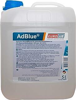 Eurolub AdBlue 845005 Aditivo para Combustible diésel, 5 L