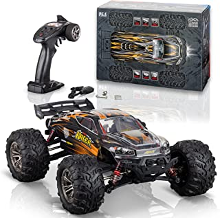 Torxxer 1:16 Scale Brushless RC Truck - High Speed Hobby Grade RC Car, Hits 33 Miles Per Hour - Off Road 4WD for Grip on A...
