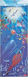 """Melissa & Doug Under the Sea Floor Puzzle (Easy-Clean Surface, Promotes Hand-Eye Coordination, 100 Pieces, 48"""" L x 18"""