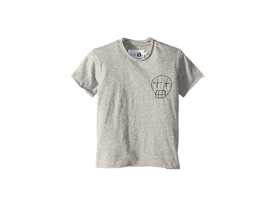 Nununu - Nununu Embroidered Sketch Skull T-Shirt