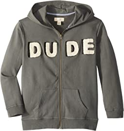 Dude Zip Hoodie (Toddler/Little Kids/Big Kids)