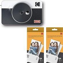 Kodak Mini Shot 2 Retro Portable Wireless Instant Camera & Photo Printer - White - 60 Sheets