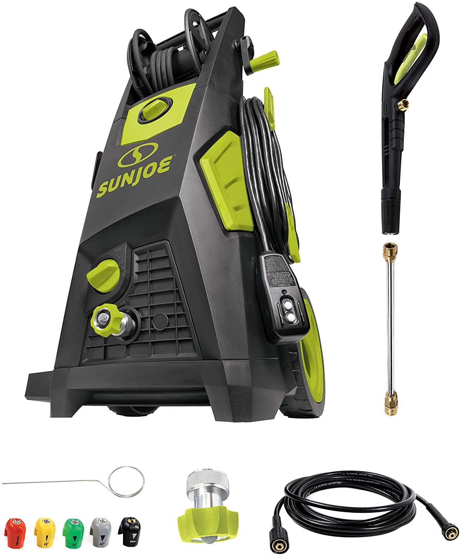 Sun Joe SPX3501 Regular store 2300-PSI 1.48 Electric Induction P Brushless Milwaukee Mall GPM