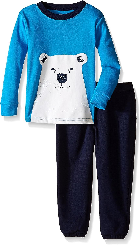 Carter's 2 Piece Pant PJ Set (Baby) - Navy-12 Months
