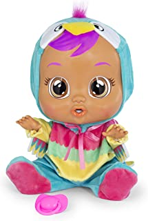 Cry Babies Loretta Doll, Pink, Teal, Yellow