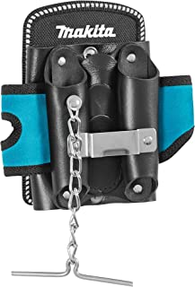 Makita Electricians Mate Tool & Tape Holder Storage 5 Pockets Belt Clip | Blue